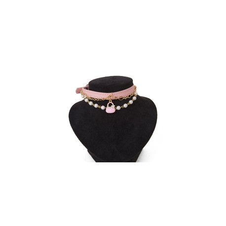 Collier Midnight Party Rose