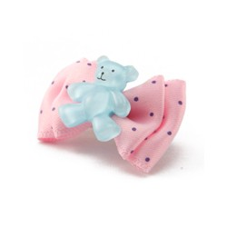 Smile Bear Hair Pin rose