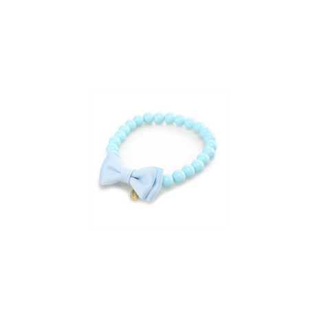 Collier Puppy Angel Perle Bleue