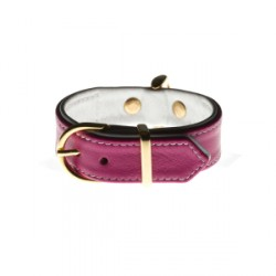 "Collier Million Dog ""Small Fushia"""