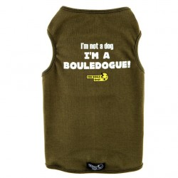 I'm not a dog I'm a bouledogue kaki